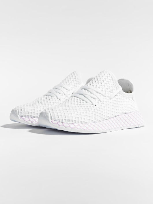 nouveau concept b7f35 3a1da Adidas Originals Deerupt W Sneakers Ftwr White