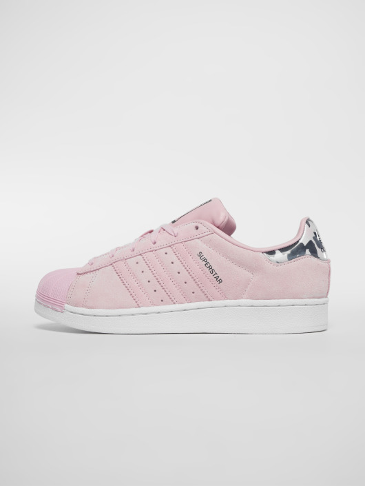 ... adidas originals Baskets Originals Superstar J magenta ...