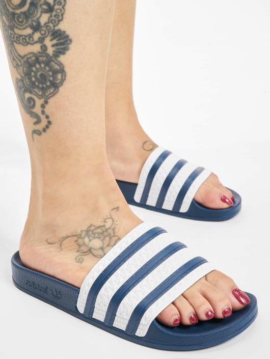 Adidas Claquettesamp; OriginalsAdilette 302797 Bleu Homme Sandales hdCQrstxB