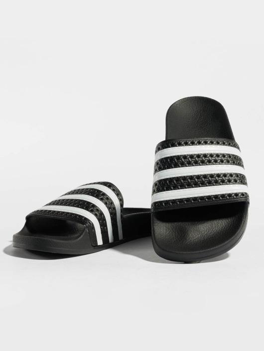 the best attitude 23ef4 d7375 adidas originals Sandalen Adilette schwarz