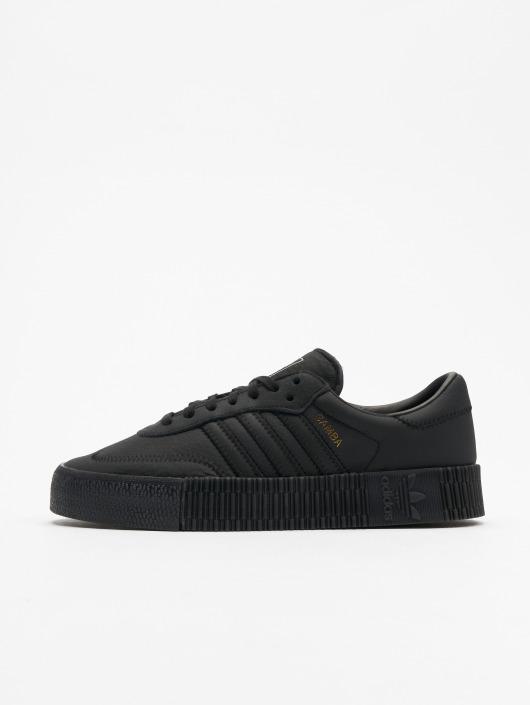 sale retailer e8a41 f5945 ... adidas originals Sneakers Sambarose W svart ...