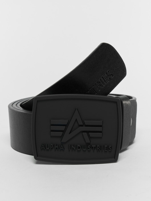Alpha Industries Ceinture All Black noir