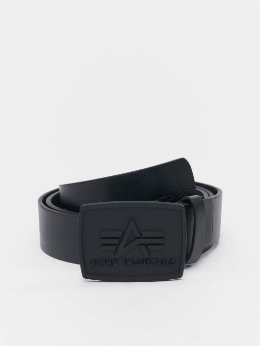 Alpha Industries Gürtel All Black schwarz