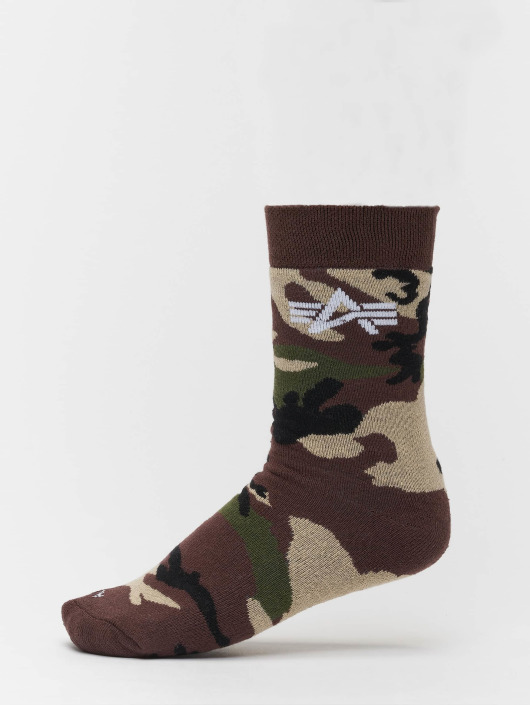 Alpha Industries Socks Camo camouflage