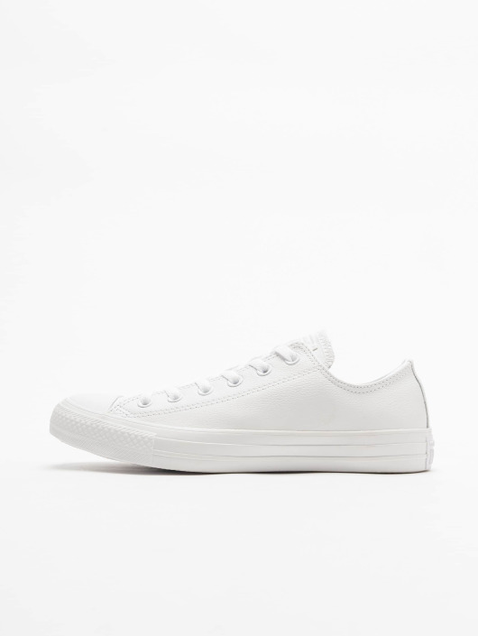 Leather Taylor Converse All Star Chuck Ox White Sneakers YEDH2I9W
