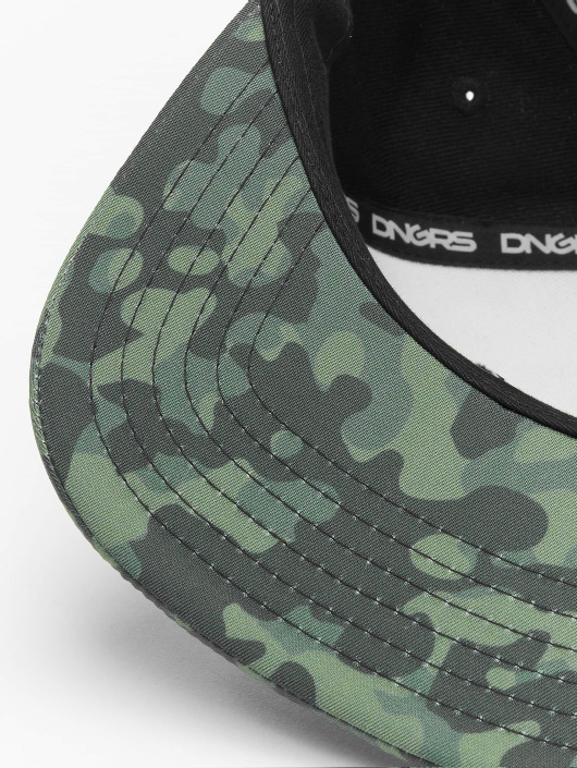 Dangerous DNGRS Snapback Caps Camo svart