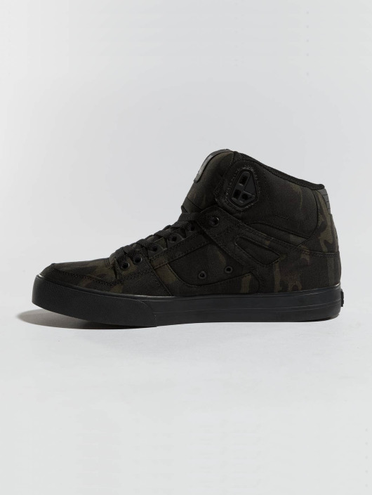 DC Sneakers Pure High-Top TX SE camouflage