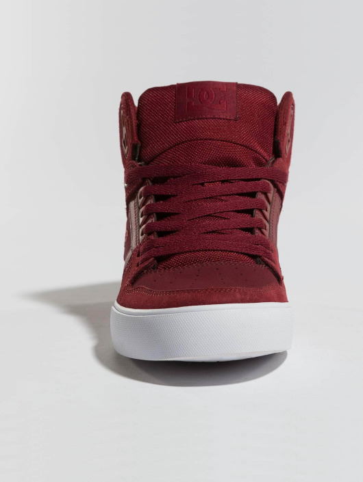 DC Sneakers Pure High-Top WC red