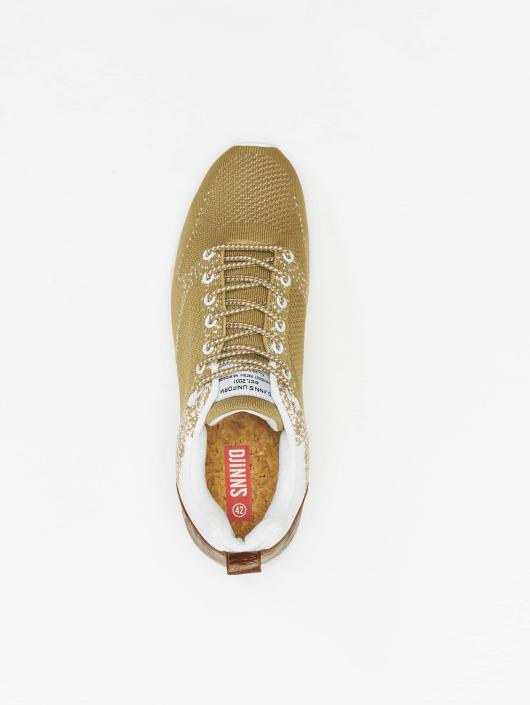 Djinns Sneaker Easy Run Gator Knit beige