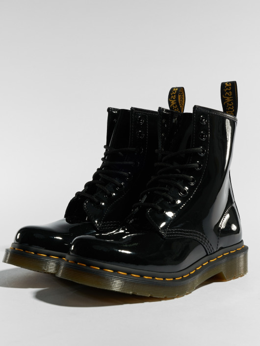 d7434af4b26ec0 Dr. Martens Damen Boots 1460 Patent 8 Eye in schwarz 116593