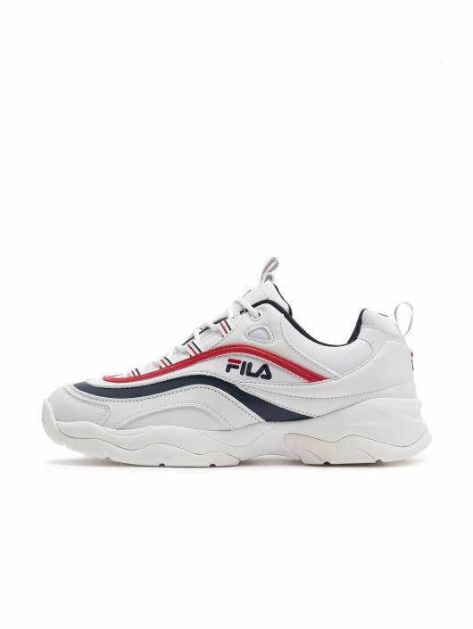 FILA Baskets Ray Low blanc