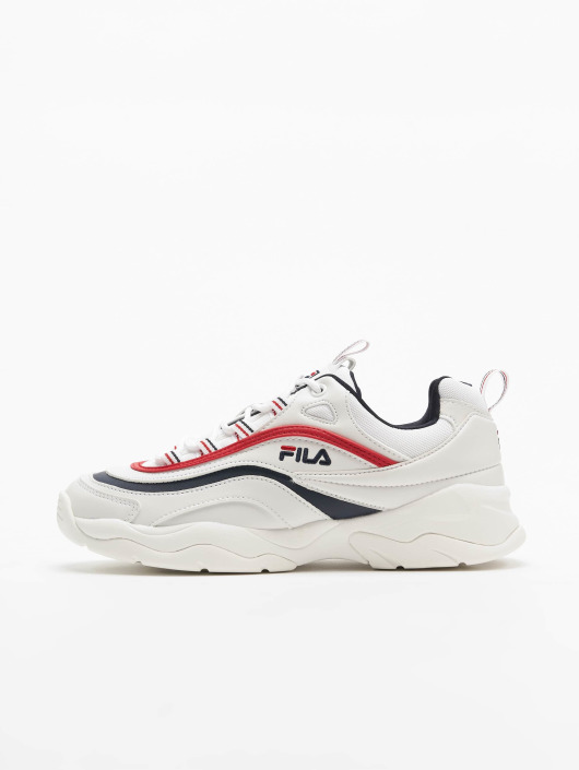 FILA Ray Low Sneakers White/Fila Navy/Fila Red