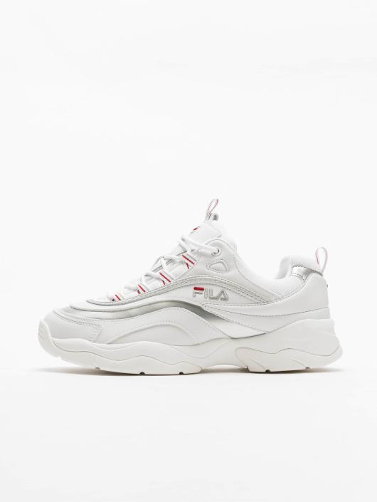 FILA Ray Low Sneakers White/Silvern