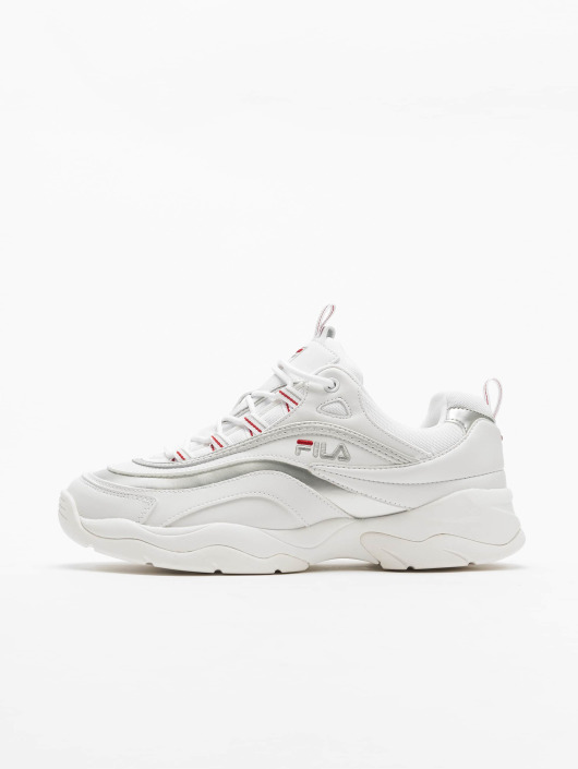 FILA Ray Low Sneakers WhiteSilvern