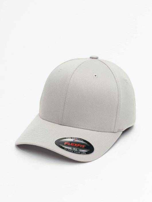 e861b3ae2e8 ... Flexfit Casquette Flex Fitted Wooly Combed argent ...