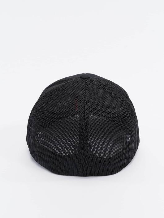 128686 Fitted Noir Flexfit Twill Mesh Flex Casquette Cotton YI9WDHE2