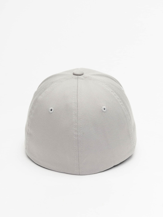 Flexfit Flexfitted Cap Wooly Combed srebrny