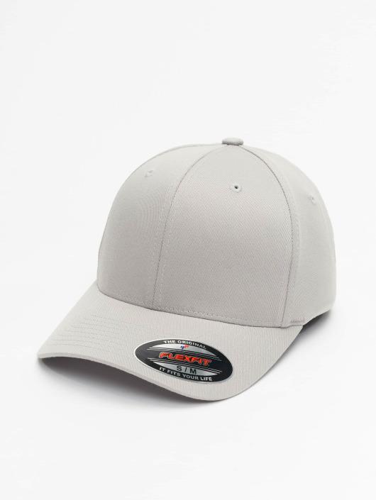 Flexfit Lastebilsjåfør- / flexfitted caps Wooly Combed sølv