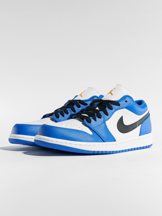 ... Jordan Baskets Air Jordan 1 Low bleu ...