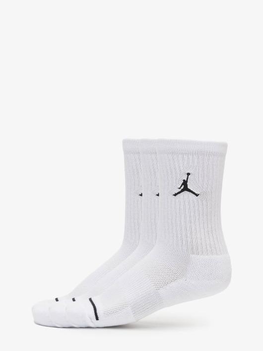 Jordan Ponožky 3 Pack Cotton Crew biela