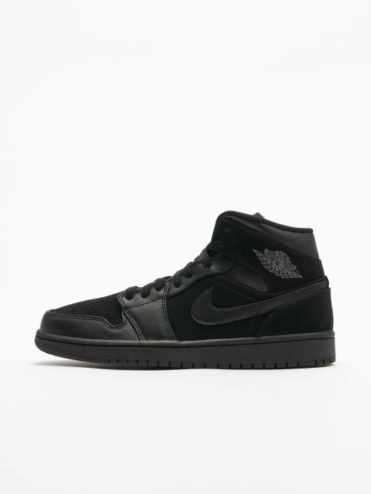 official photos de1f4 c8c7e ... Jordan Sneaker Air Jordan 1 Mid schwarz ...