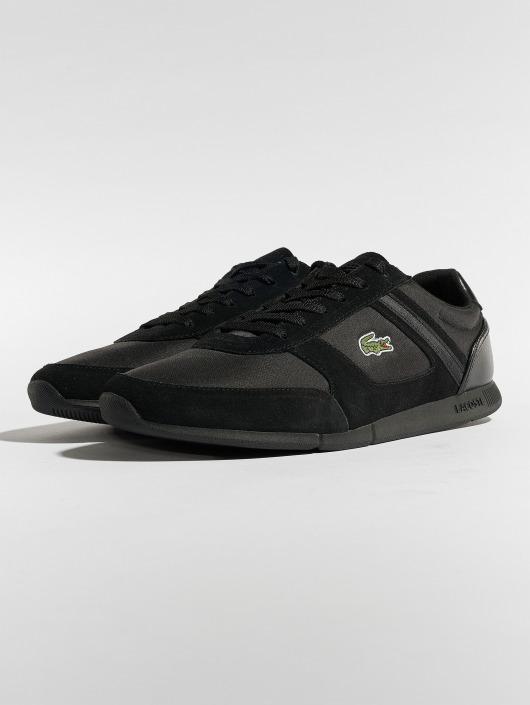 lacoste herren sneaker menerva sport 318 1 cam in schwarz. Black Bedroom Furniture Sets. Home Design Ideas