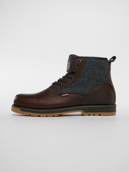 bed86268219046 Levi's®   Logan brun Homme Chaussures montantes 514459