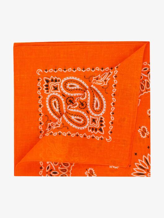MSTRDS Hodetørkler/Hodeskjerf Printed oransje