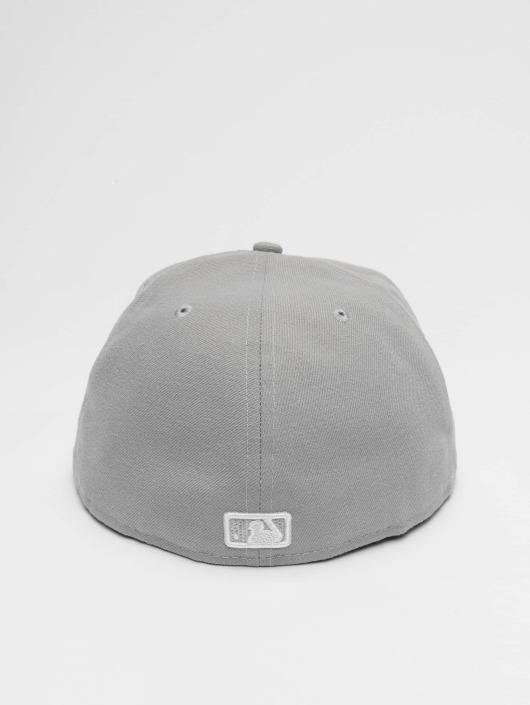 New Era Fitted Cap MLB Basic NY Yankees 59Fifty in grau 34792 3f67a183fb2