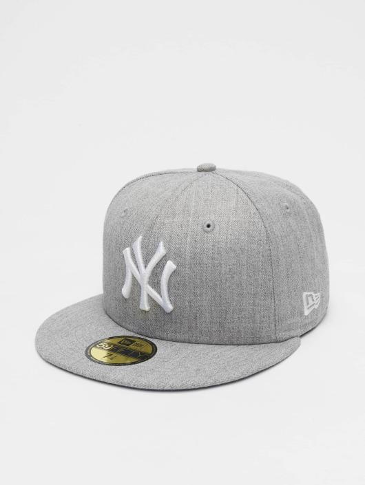 New Era Fitted Cap MLB League Basic NY Yankees 59Fifty gray