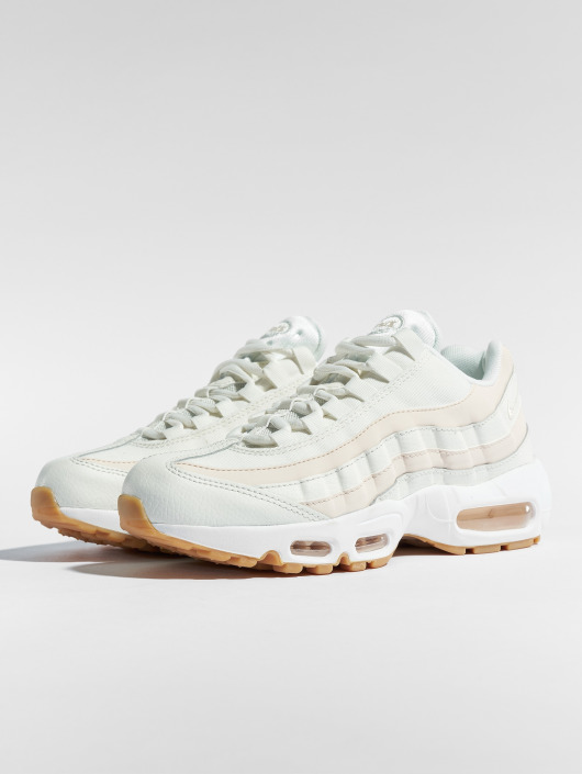 newest a58f0 10363 ... Nike Baskets Air Max 95 blanc ...