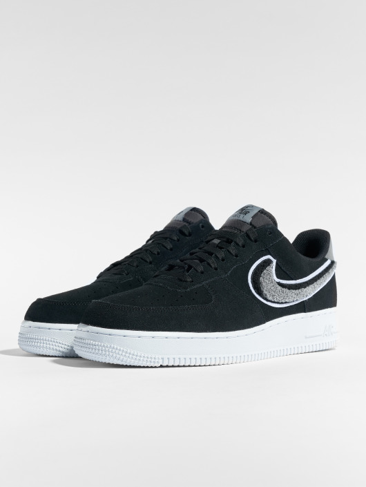 Nike Air Force 1  07 Lv8 Sneakers Game Royal Wolf Grey Black White b712f1a1576f