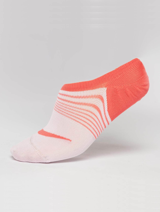 Nike Performance Chaussettes Everyday Plus Lightweight Training 3 Pack Footie orange