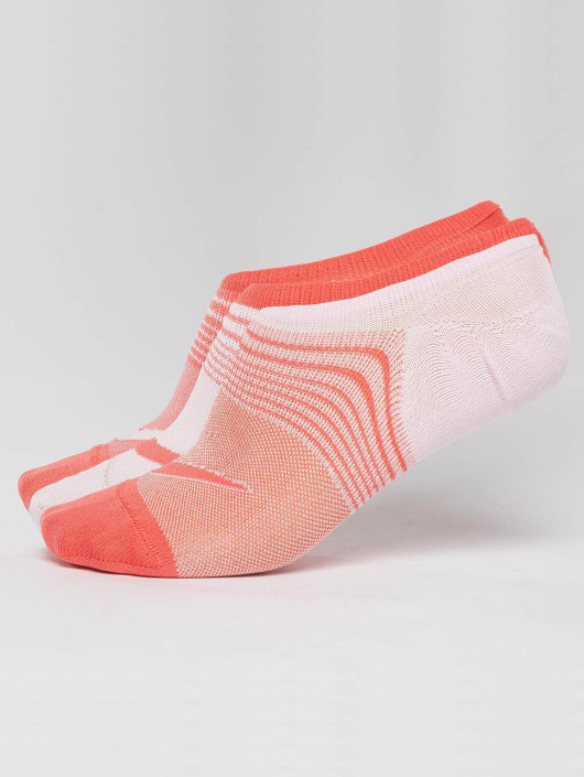 Nike Performance Socken Everyday Plus Lightweight Training 3 Pack Footie orange