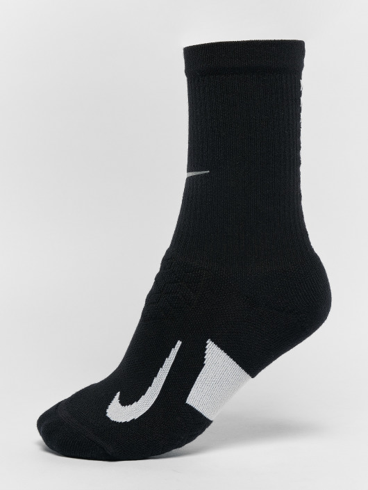 Nike Performance Socken elite Cushioned Crew Running schwarz