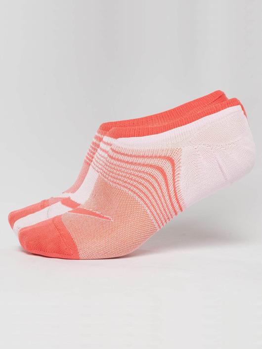 Nike Performance Socks Everyday Plus Lightweight Training 3 Pack Footie orange