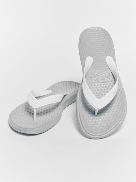 Nike Damen Sandalen Solay Thong in grau 466567 36d15baf21