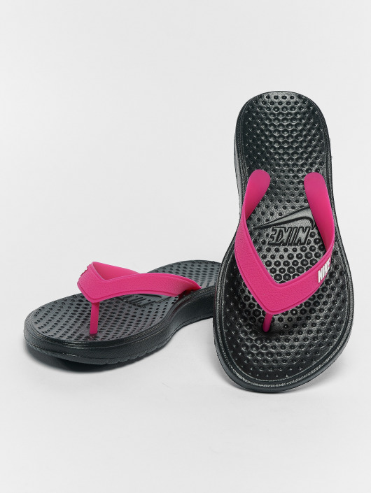 wholesale dealer 2dbd6 d30b3 ... Nike Sandaler Solay Thong svart ...