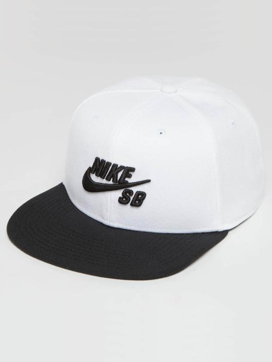 Nike SB Icon Snapback Cap White/Black/Black/Black
