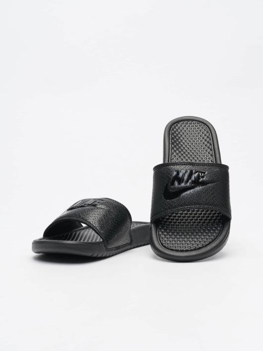 b3ea5f4805e Nike schoen / Slipper/Sandaal Benassi JDI in zwart 363087