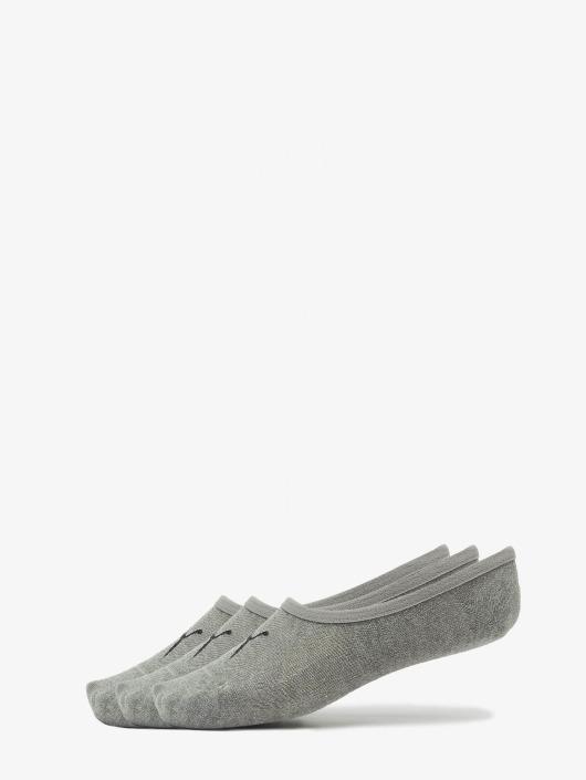 Puma Socks 3-Pack Footies grey