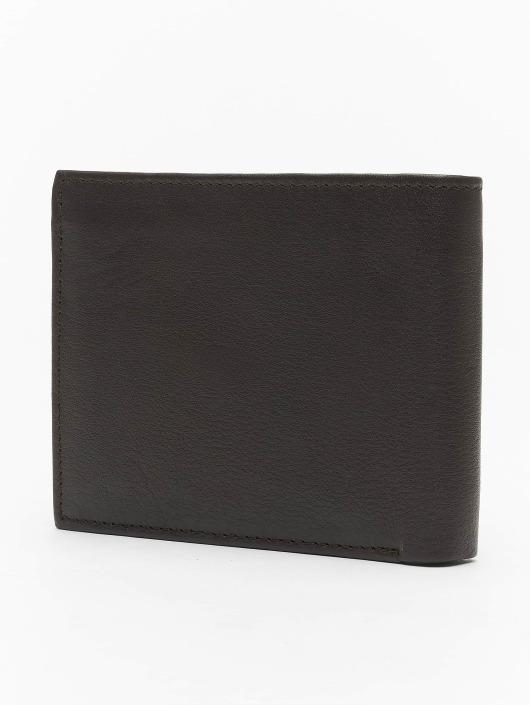 Reell Jeans Geldbeutel Button Leather braun
