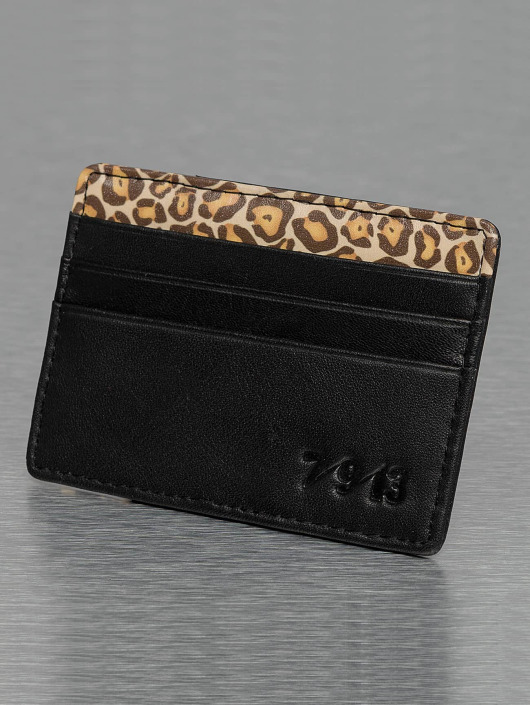 Seven Nine 13 portemonnee Pocket Money zwart