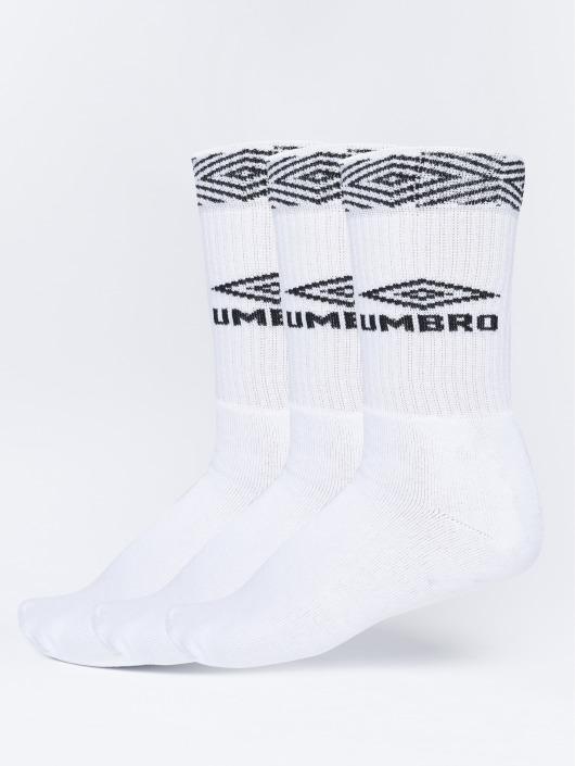Umbro Sokker 3-Pack Projects Sport hvit