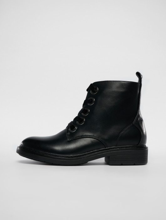 Urban Classics Boots Velvet Lace black