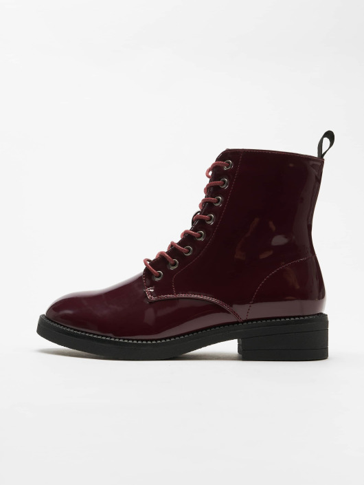 Urban Classics Chaussures montantes Lace rouge