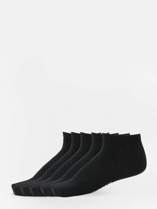 Urban Classics Ponožky 5-Pack Logo No Show èierna