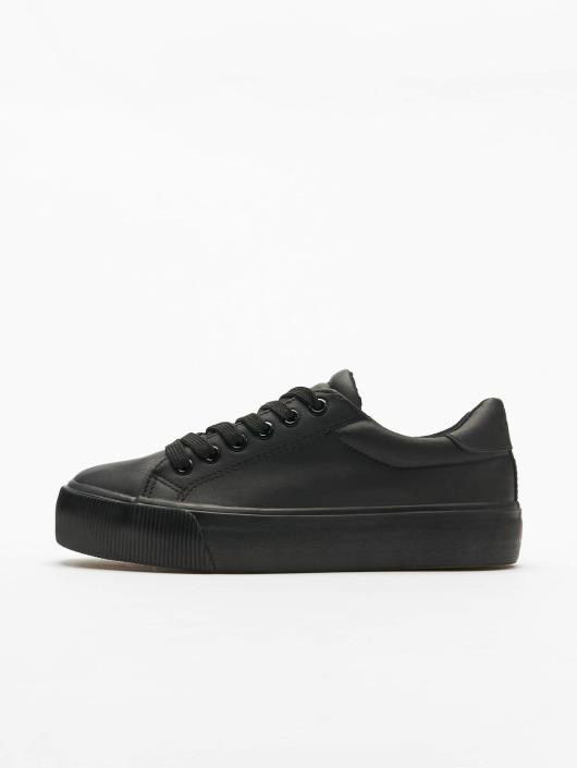 Urban Classics Sneaker Plateau schwarz