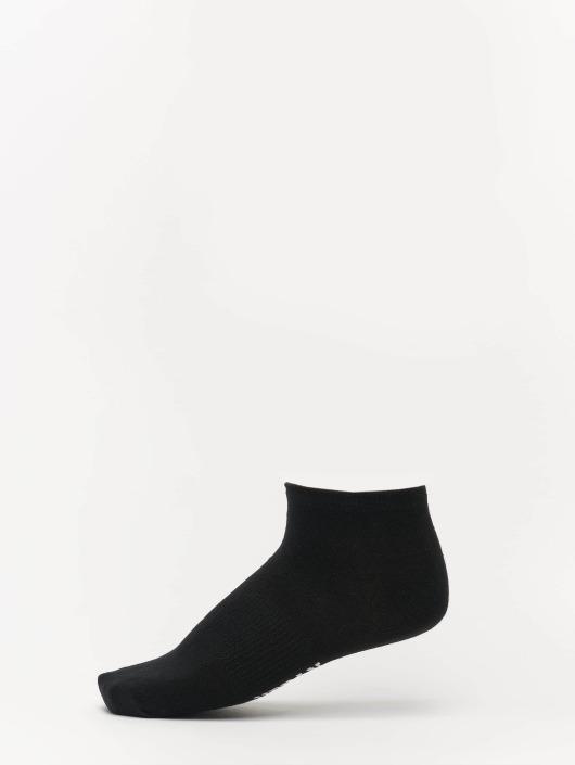 Urban Classics Sokken 5-Pack Logo No Show zwart