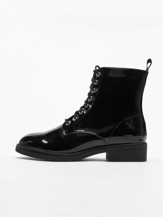Urban Classics Støvler Lace svart